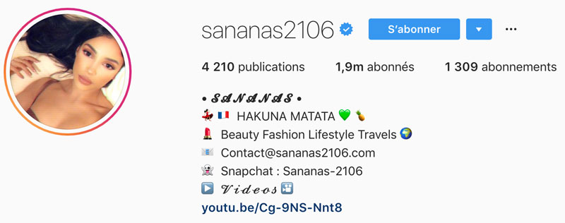 bio instagram comment creer