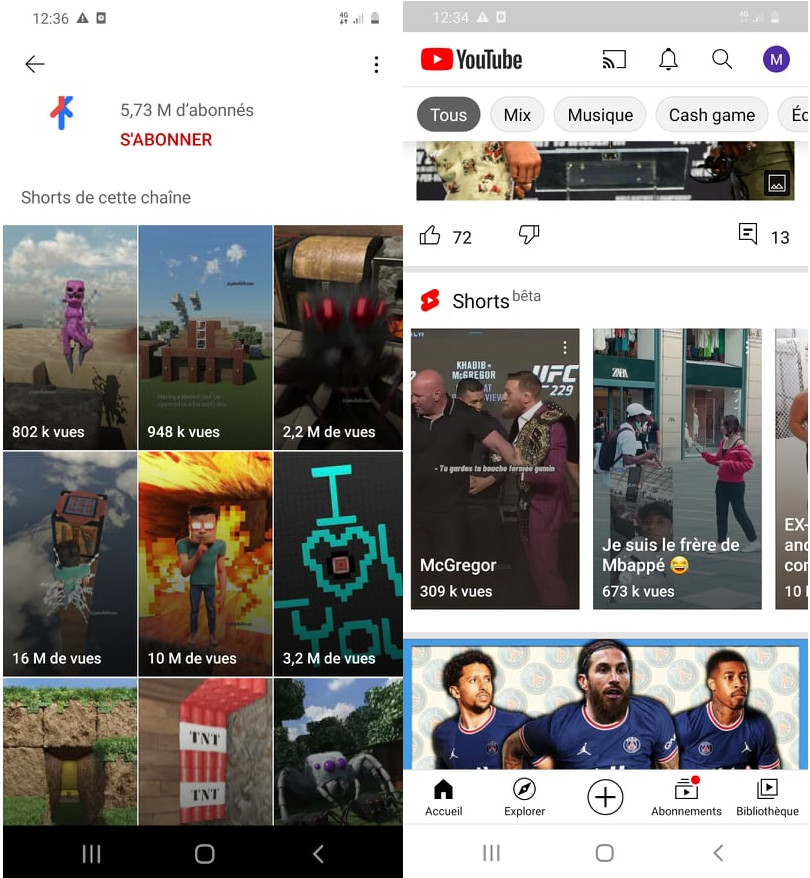 youtube shorts tout savoir